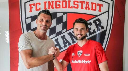 Trasch, o novo jogador do Ingolstadt. FCIngolstadt