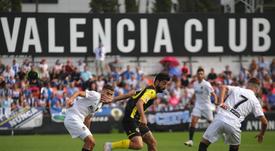 El Hércules está indignado con el Valencia. Twitter/Hércules