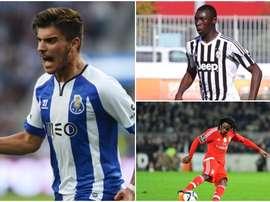 Tres promesas en la agenda del Real Madrid. BeSoccer