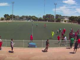 Trifulca en un partido de juveniles entre el Natación Almería y el Tiro Pichón. Youtube
