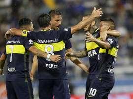 Boca se afianza en el liderato. BocaJuniors