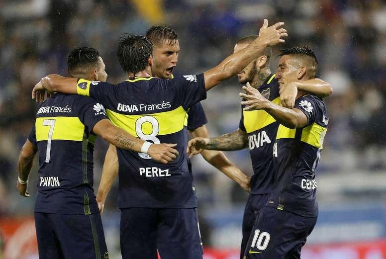 Boca Juniors cuenta con tres jugadores lesionados. BocaJuniors