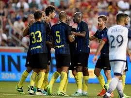 Los de Mancini arrancan su gira USA con buen pie. Inter