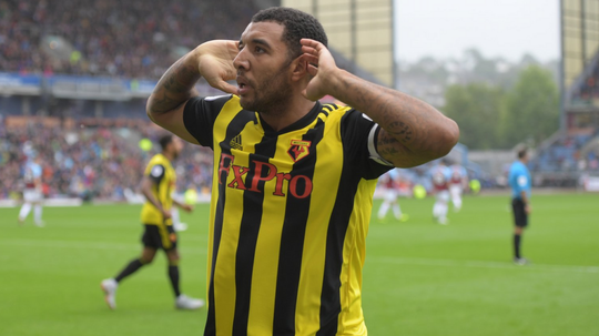 Troy Deeney has been in fantastic form for Watford this year. AFP