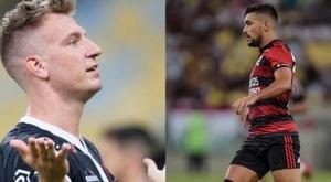 Prováveis escalações de Vasco e Flamengo. Twitter