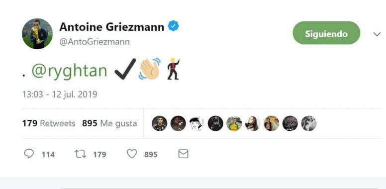 Un saludo muy especial para su gran fan. Twitter