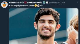 Valencia spoke out against VAR. @valenciacf