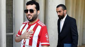 Sheik do Almería doará 200.000 euros para cidade comprar vacinas de COVID-19. EFE