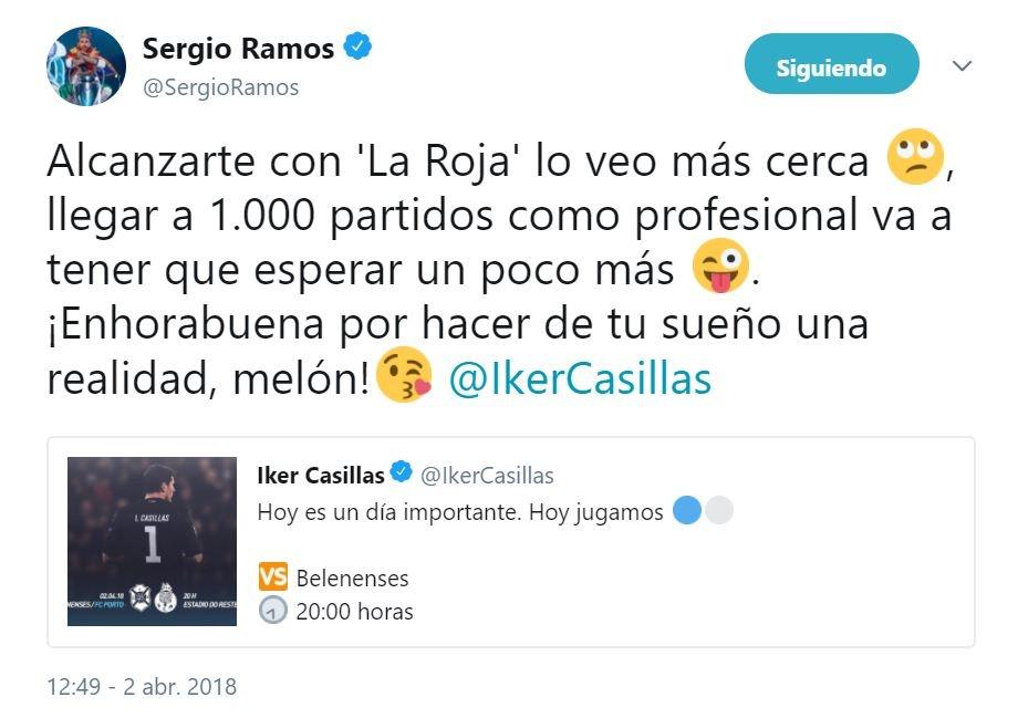Iker Casillas está de fiesta; jugó su partido 1000 como profesional