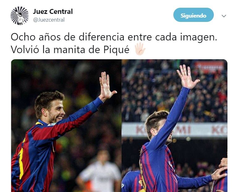 Piqué defendió a Ramos tras 'lluvia' de insultos en el Clásico