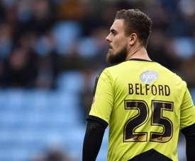 Tyrell Belford tendrá que buscar un nuevo equipo. SwindonTown