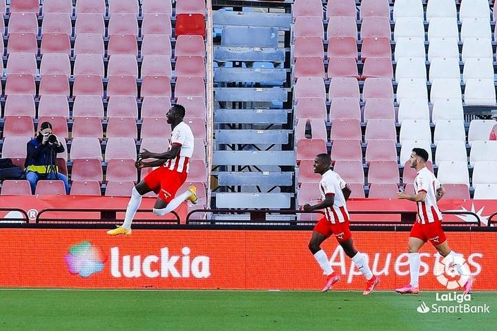 Sadiq anotó el gol de la victoria ante el Betis Deportivo. LaLiga