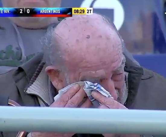 Osorio contó su anécdota tras llorar con la victoria de los suyos. TycCSports