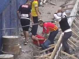 Duras imágenes que pudieron acabar en tragedia. Youtube/ErikaMelissa
