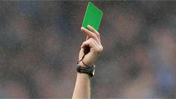 La tarjeta verde premia los valores del juego limpio en Italia. Twitter