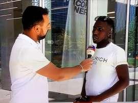 Il se présente au siège social de l'Inter... pour passer des tests ! Capture/SkySport