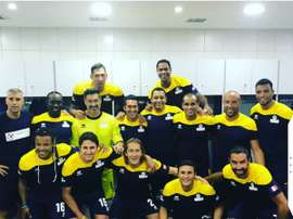 Grandes ex jugadores retirados disputarán un partido en Basora. Twitter/MichelSalgado