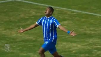 Un gol de Bullaude permitió la remontada de Godoy Cruz. Youtube/LigaProfesionaldeFutboldelaAFA