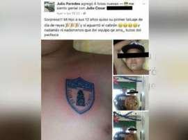 E vocês, tatuariam a seus filhos com o escudo do time favorito? 90min