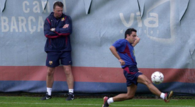Xavi pudo haberse marchado a Italia, pero su madre lo impidió. FCBarcelona