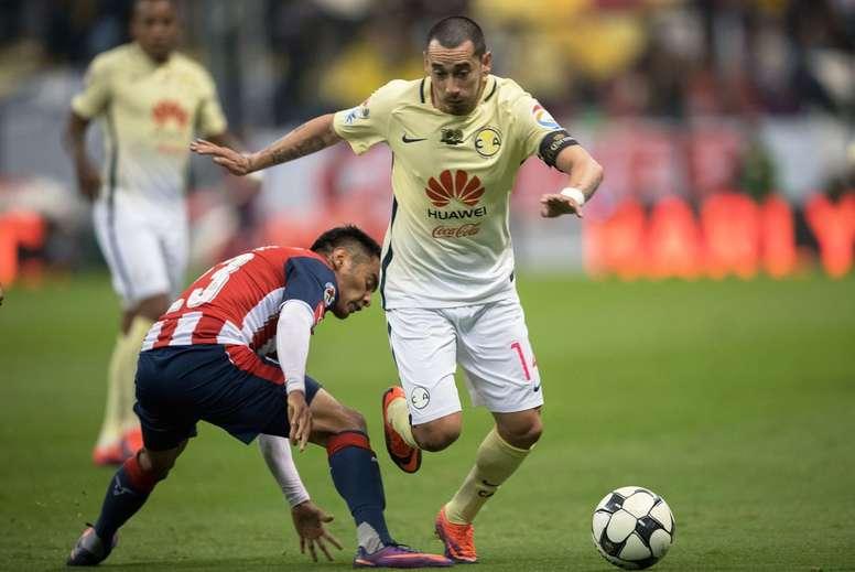 Chivas se llevó los tres puntos ante el América. ClubAmérica
