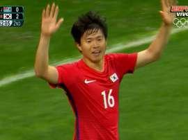 La República de Corea consigue una goleada histórica. ESPN