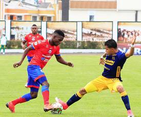 Deportivo Pasto comenzó ganando a Unión Magdalena. DeportivoPasto