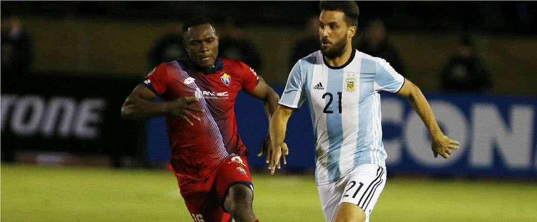 Sanciones en el fútbol ecuatoriano. EFE/Archivo