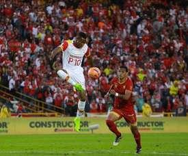 Rionegro tiró de épica para igualar el partido con un marcador adverso. SantaFe