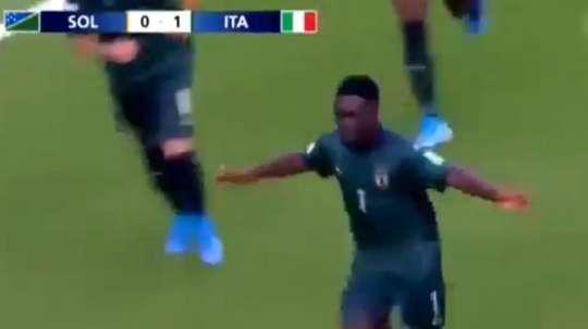 Le commentaire raciste d'un journaliste argentin pendant le Mondial U17. Capture/TyCSports