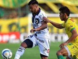 Los jugadores de Quilmes fueron víctima de la ira de su propia hinchada. QuilmesAClub