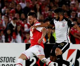 Mendoza podría ganarse un hueco en la plantilla de Corinthians. EFE