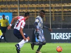 Tigres ha descendido a la B de Colombia. TigresFC