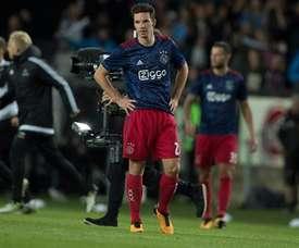 O Ajax não vai jogar a Europa League, depois de ter chegado à final no ano passado. AFCAjax
