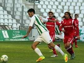 El Córdoba B ganó por 2-0 al Melilla. CordobaCF