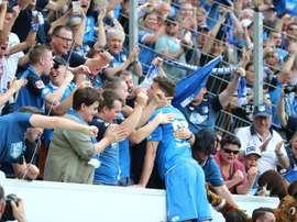 El Hoffenheim vuelve a hacer historia. TSGHoffenheim