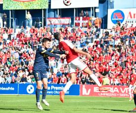 Los visitantes intentaron buscar el empate hasta el último minuto. RealMurcia