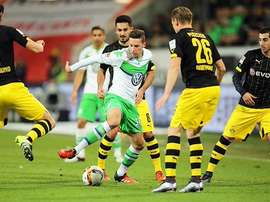 The Bundesliga side have been paired with the Belgian champions. EFE