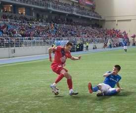 Jugar en un pabellón es posible en Rusia. FKYenisey