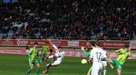 La Cultural ganó por un corto 1-0 a Unionistas en León. Twitter/CyDLeonesa
