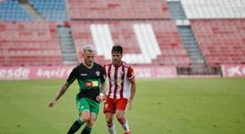 Un aficionado del Almería resultó herido en Elche. Twitter/elchecfoficial