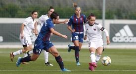 El Levante también ganó en Valdebebas. Twitter/CD_Tacon