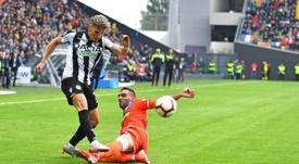 El Udinese dio un gran salto hacia la salvación. UdineseCalcio