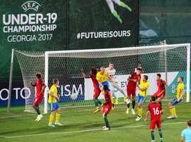 Suecia quiso el triunfo del honor, pero Portugal se lo negó. FPF