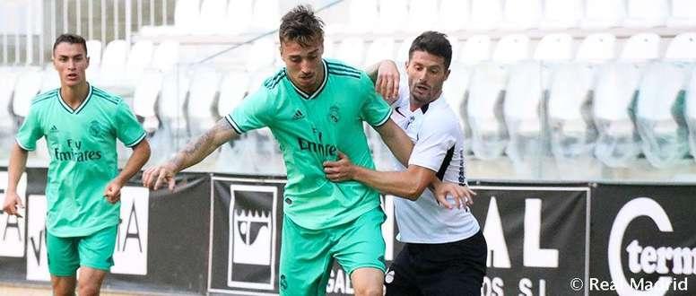 El Castilla cayó en el amistoso ante el Burgos. RealMadrid