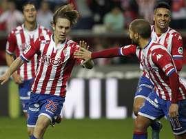Halilovic is on loan at Sporting. SportingFC