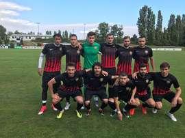 El Ararat de Moscú ha pasado de jugar partidos de aficionados al fútbol profesional. VK/FCAraratMsk