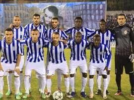 El KF Tirana ha descendido por primera vez a Segunda División. KFTirana