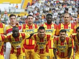 El Benevento hace historia al conseguir dos ascensos en dos años. BeneventoCalcio
