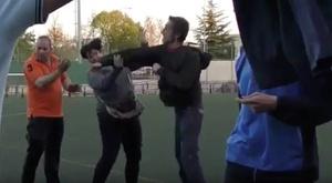 Un padre agredió a una madre. Youtube